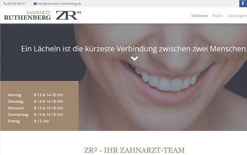 SEO Zahnarzt Ruthenberg